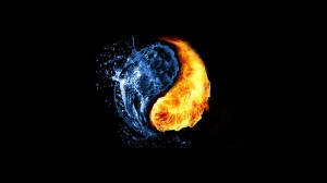 water-fire-abstract-black-background